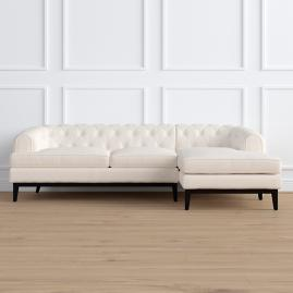 Bel Air Right-facing Chaise Sectional by Martyn Lawrence