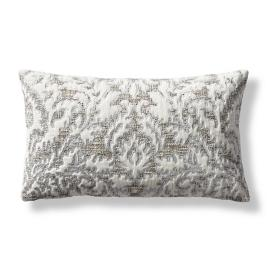 Guinevere Embroidered Lumbar Pillow Cover