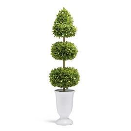 "Boxwood 35"" Three-layer Topiary"