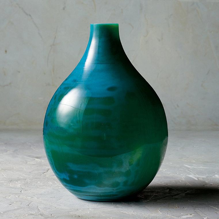 "Marella 10-1/2"" Glass Vase"