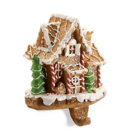 Gingerbread House Stocking Holder