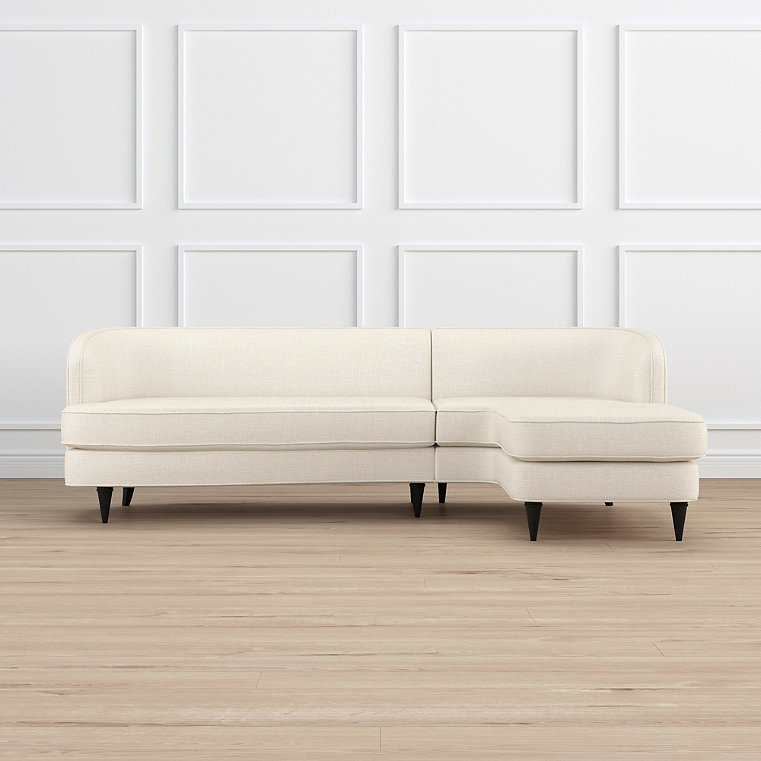 Milly Right-facing Chaise Sectional