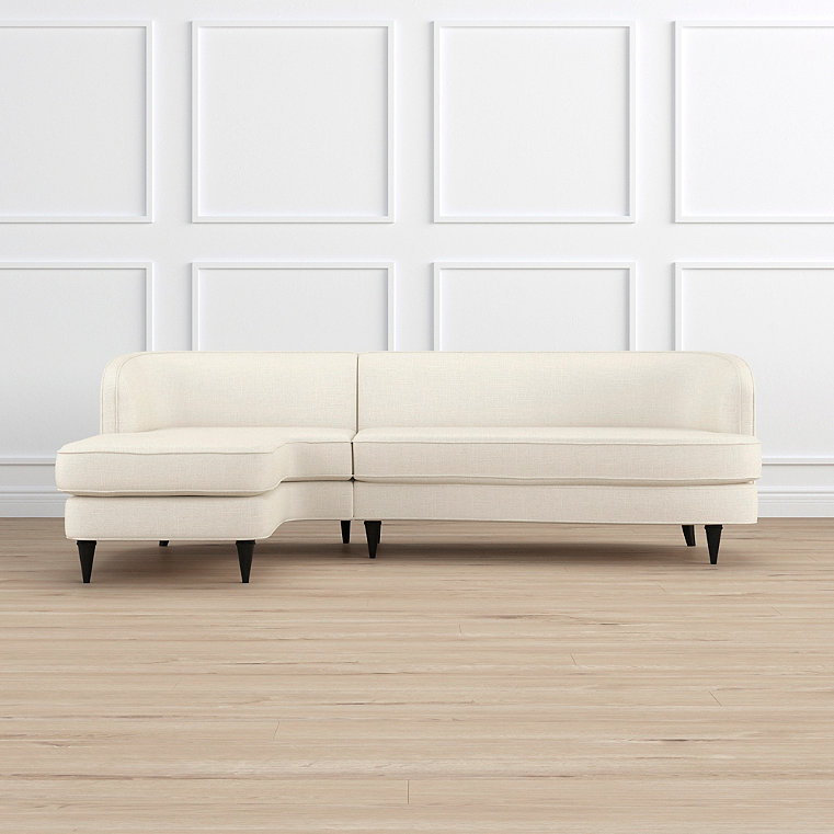 Milly Left-facing Chaise Sectional