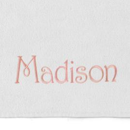 Resort Solid Beach Towel with Name