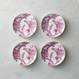 Caskata Arcadia Canape Plates, Set of Four