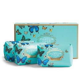 Portus Cale Butterflies Three-piece Soap Set