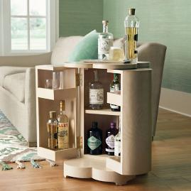 Clover Storage Side Table