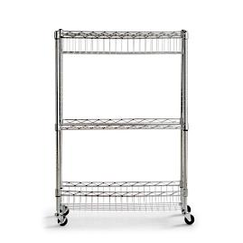 Chrome Laundry Caddy