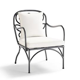 Eloise Lounge Chair with Cushions