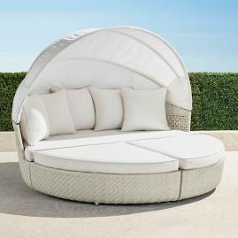 Cadence Daybed in Ivory Finish
