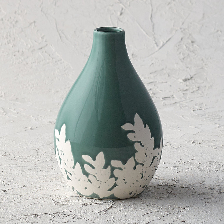 Chastain Fern Shaped Vase