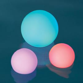 LED Color Changing Glow Balls, Set of Three