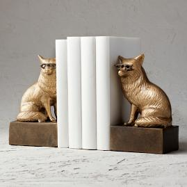 Clever Fox Bookends