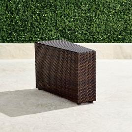 Pasadena II End Table in Bronze Finish