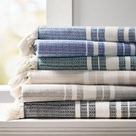 Nantucket Fringe Throw