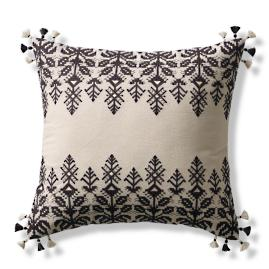 Lenora Embroidered Decorative Pillow Cover