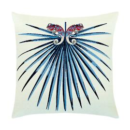 Palmetto Indoor/Outdoor Pillow by Elaine Smith