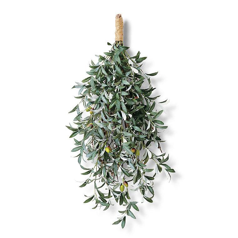 """Olive Leaf 32"""" Swag"""