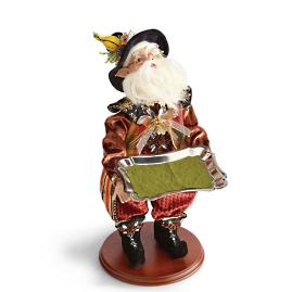 "Mark Roberts 18-1/2"" Pilgrim Elf Server"
