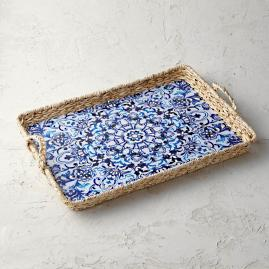 Dunmore Wicker Tray