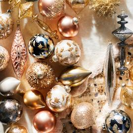 Gold Rush 60-piece Ornament Collection