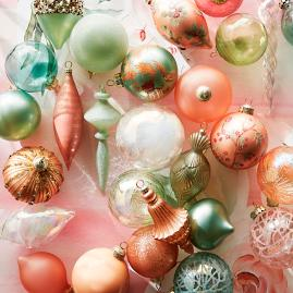 Royal Blush 40-piece Ornament Collection