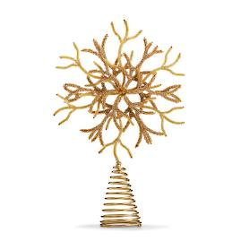 Double-layered Snowflake Tree Topper