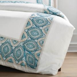 Ayla Embroidered Duvet Cover