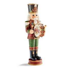 "LED 58"" Drummer Nutcracker"