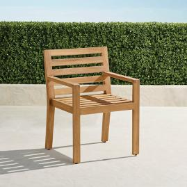 Calhoun Dining Arm Chairs in Natural Teak. Set