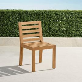 Calhoun Dining Side Chairs in Natural Teak. Set