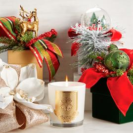 Lux Holiday Scented Candle in Gift Box