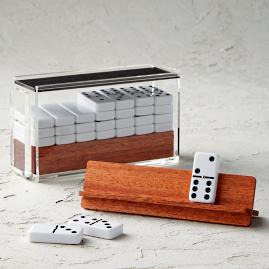 El Catire Dominoes Set with Racks