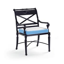Contrast Border Outdoor Chair Cushion