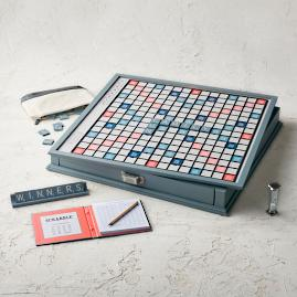 Scrabble Giant Deluxe Designer Edition Board Game