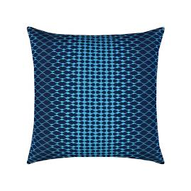 Optic Indoor/Outdoor Pillow by Elaine Smith