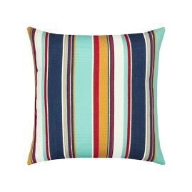 Sicily Stripe Indoor/Outdoor Pillow by Elaine Smith