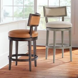 Hunter Swivel Bar & Counter Stool