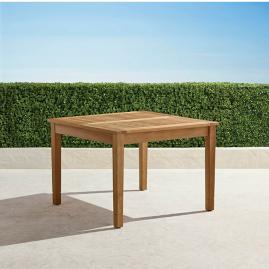 Classic Teak Expandable Dining Table in Natural Finish