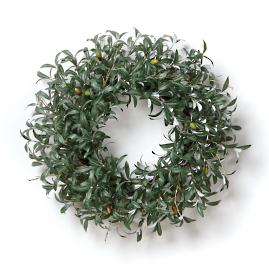 Lush Olive Leaf Wreath