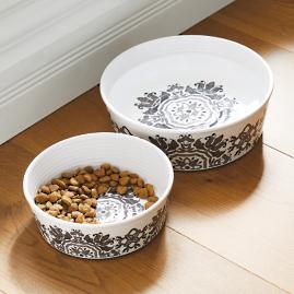 Elena Melamine Pet Bowl