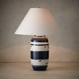 Modern Brushstroke Tall Table Lamp