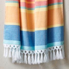 Resort Striped Turkish Beach Towel