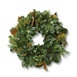 Maya Magnolia Greenery Wreath