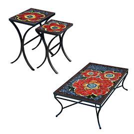 KNF Zinnia Nesting Tables, Set of Two