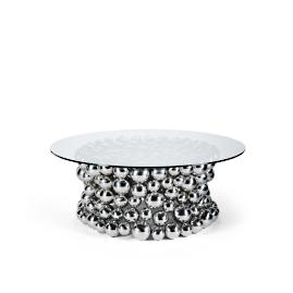 Cava Round Coffee Table Tailored Furniture Cover