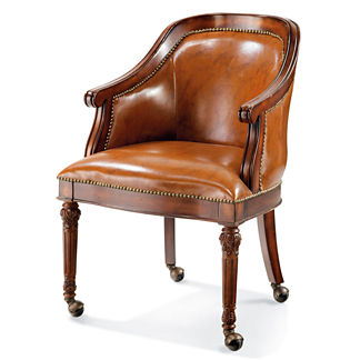 Freeman Leather Game Chair