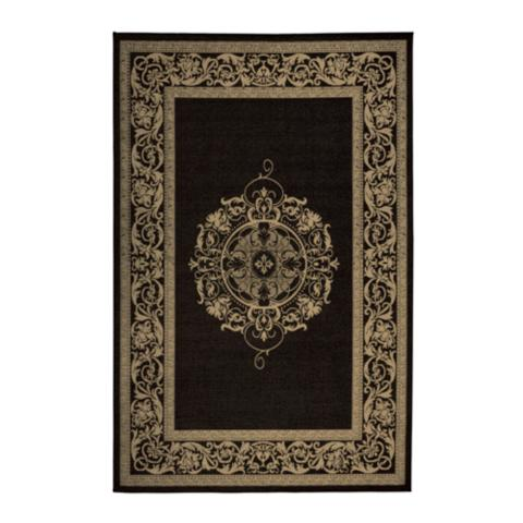 Outdoor rug outdoor rug and gardens bright floral trellis for Bright floral area rugs