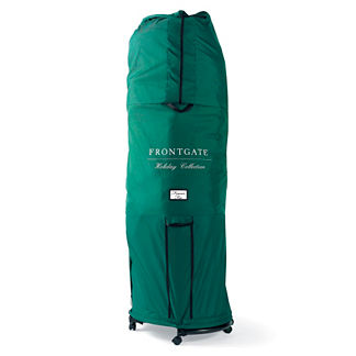 Standard Girth Tree Storage Bag with Rolling Stand (for Trees up to 9')