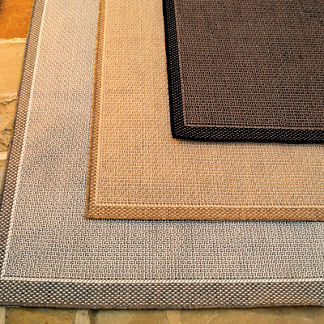 Saddlestitch Outdoor Rug